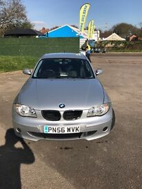 BMW 1 series sport! Built in SAT NAV! Absolute bargain!!