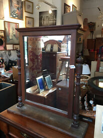 Large Mahogany Framed Dressing Table Mirror Must be seen lovely mirror.