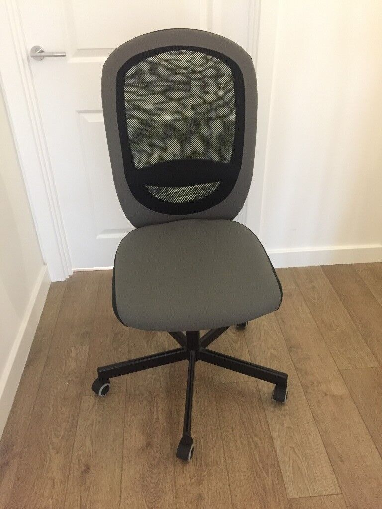 Office Chair Ikea Flintan In Grey
