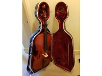 Full size Cello with case for sale