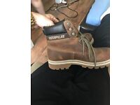 Heavy Duty Work Boots Caterpillar Size 7