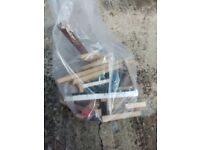 Bag of offcuts of wood for burning