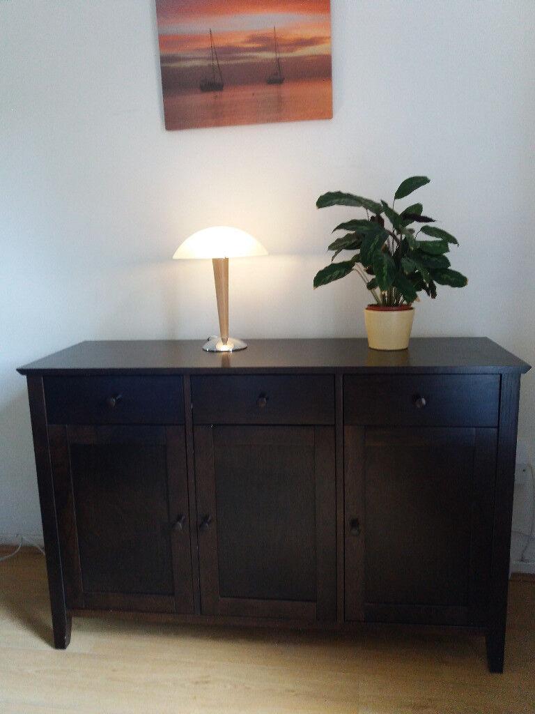 save off c0e89 5979e John Lewis Alba Wide Sideboard in colour dark walnut in excellent condition  £40 | in Inverleith, Edinburgh | Gumtree