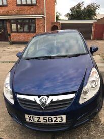 Vauxhall corsa 1.4 5dr automatic