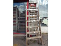 Timber Steps and Trestles