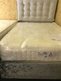 Shop display bedbase and headboard-£170,quality mattrass New -£200