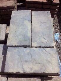 Rectangle garden paving slabs
