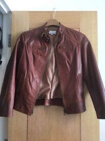 Real Italian leather jacket