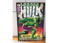 Marvel comic Hulk picture
