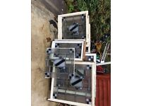 Stained glass sash windows x8 for more info just txt
