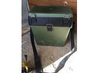 Seat box tackle box