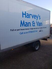 L@@k harveys man and van/removals