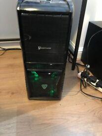 Desktop PC - i7 CPU @ 3.5GHz with 12GB RAM - Windows 10 64bit OS and 232GB hard drive