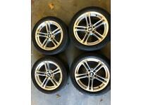 Bmw 5 series f10 m sport 18inch alloys wheels