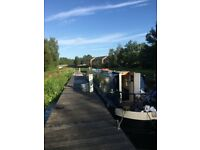 Live-Aboard 52ft Narrowboat for Sale