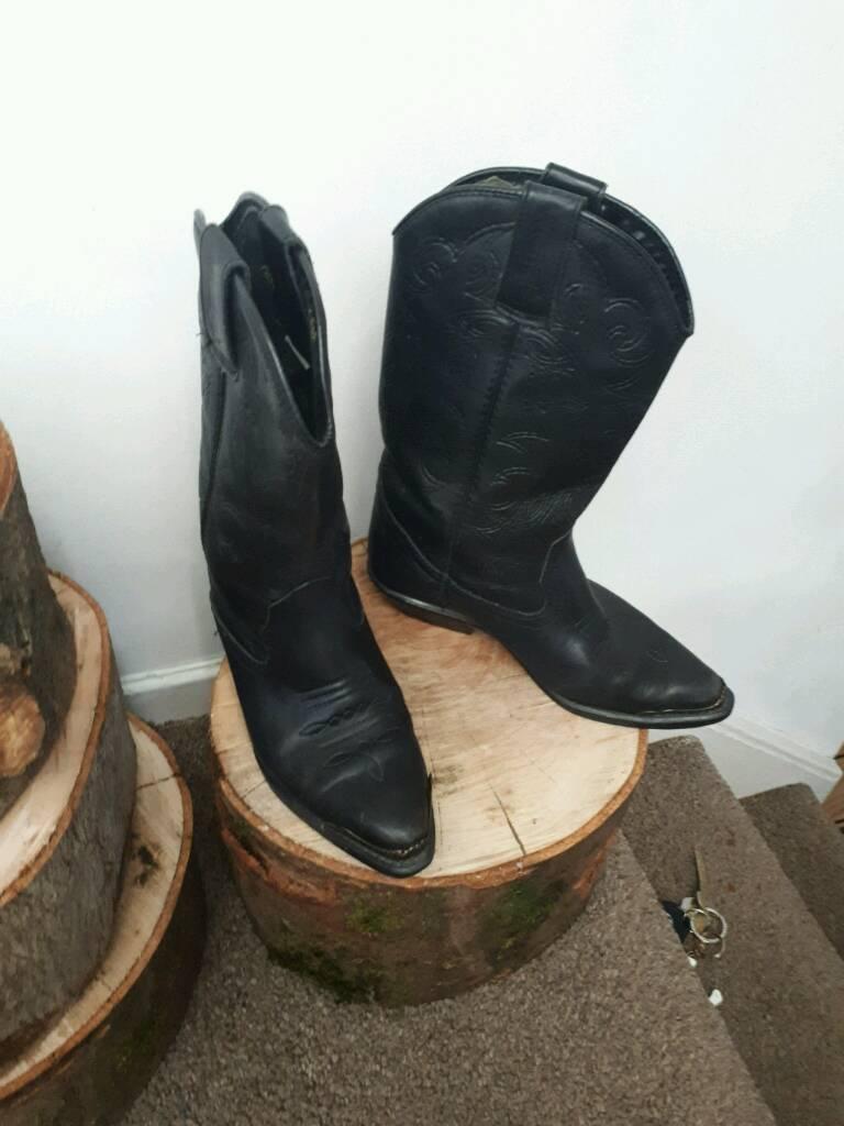 Wrangler cowboy ladies boots 3