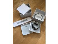 New/Unused Apple iWatch Series 1 Silver - Black Sports Band & Brand New Metal Strap Inc