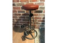 2x Brand New, Pedal Industrial bar stools. £135 each