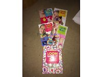 Loom band books x 5 - amazing things to create