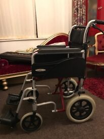 Mobility foldable wheelchair