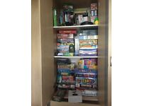 Kids Toys Huge Bundle, Ex.Cond, most new, unopened, CHRISTMAS SORTED! GAMES, BOOKS, £70 vno