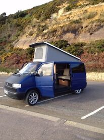 campervan vw pop top