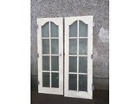 Solid mahogony doors