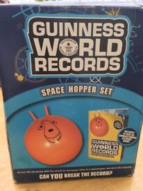 Guinness World Record- space hopper set