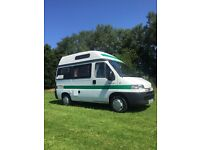 2 berth camper in excellent condition sink cooker fridge shower toilet excellent inside and out