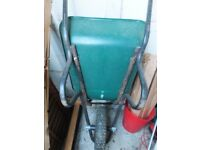 Sturdy garden wheel barrow for sale
