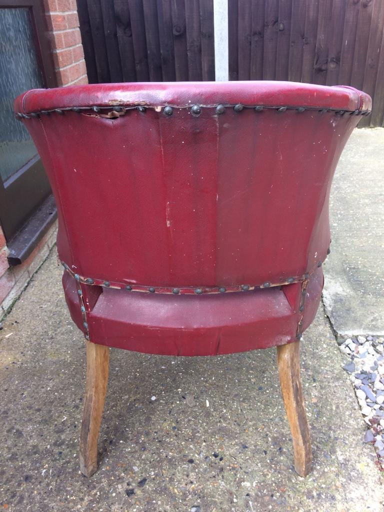 Antique bucket chair - Antique Bucket Chair 49