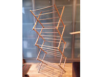 wooden clothes horse airer