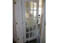 solid wood 15 panel door reduced £10