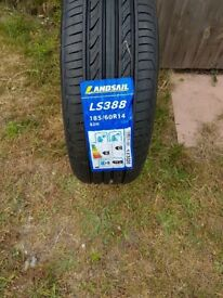 Brand new tyre 185/60/R14