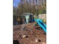 TP climbing frame, lots of extras £150