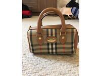 Genuine Burberry Bag