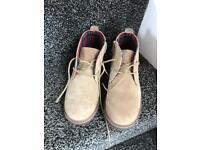 Next desert boots, boys size 13