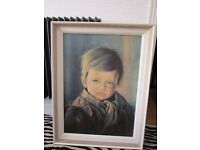 Rare Iconic Vintage Original 1960s Crying Boy picture by Giovanni Bragolin