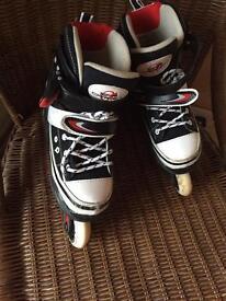 Kids inline skates - adjustable size 12-2