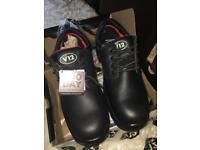 Size 10 men's safety shoes NEW/BOXED