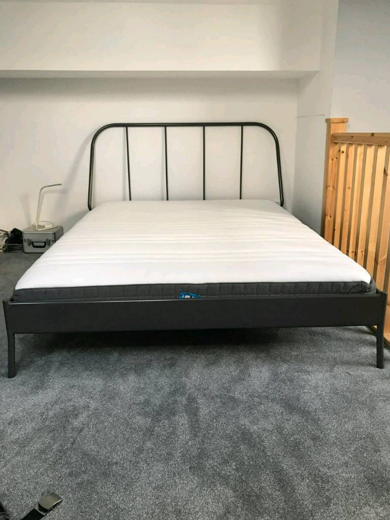 buy popular efebe 2311e Ikea kopardal standard king bed frame and mattress | in Chesterfield,  Derbyshire | Gumtree