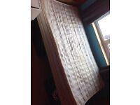 Free Single Bedbase & single bed mattress
