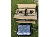 Flavel Vanessa 2 Ring Gas Cooker Stove & Grill camping caravan SOLD