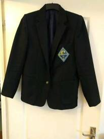 Queen Elizabeth School Uniform. Girls Blazer Wessex.Size 34""