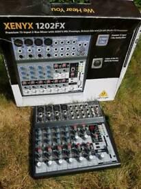 Behringer Xenyx 1202FX Mixer - 2 available