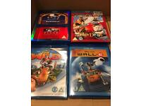 Animation Blu Rays Inc. Pixar Short Films, The Wild & Cats And Dogs