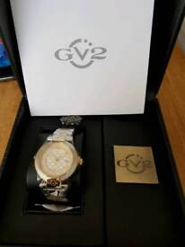Gevril ladies two tone watch 1508 brand new