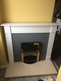 *BARGAIN* Fire surround with fire *BARGAIN*
