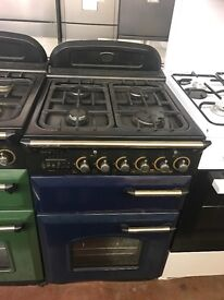 55CM BLUE LEISURE GAS COOKER