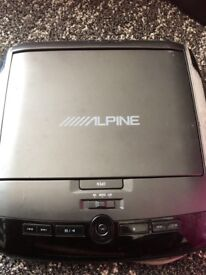 Alpine PKG2000P DVD player roof mounted
